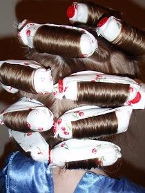 wonderwoman creations: How to make fabric hair curlers
