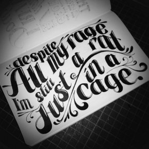"""Despite all my rage  I'm still just a rat in a cage""-Smashing Pumpkins"