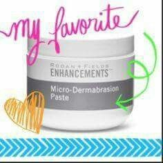 Rodan and Fields micro- dermabrasion paste is one of my favorites! It exfoliates all that dead skin, allowing it to breath! Leaves your skin glowing!!! Contact me to find out more! nsurette.myrandf.com