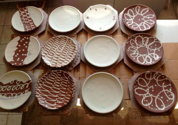 Making and Decorating — Ron Philbeck Pottery