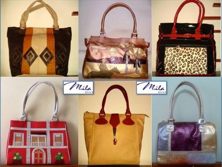 Leather handbags / Bolsos hechos en cuero