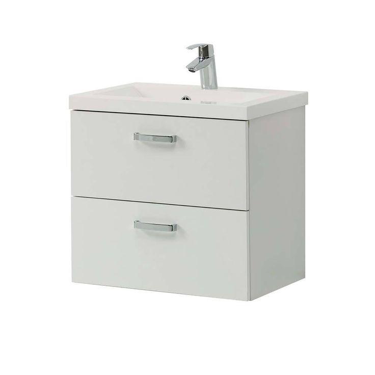 Bad Waschtisch In Weiß 2 Schubladen Jetzt Bestellen Unter: ...