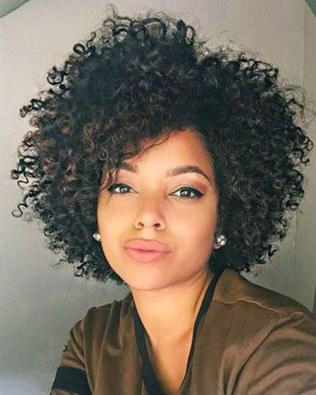 23 Short Curly Hairstyles For African American Women Long And