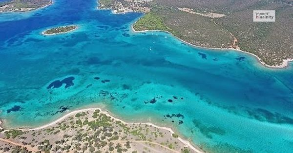 Ο απέραντος τιρκουάζ παράδεισος Πεταλιοί Εύβοιας Tropical Paradise Petalioi, Drone Greece - YouTube   About me   Pinterest   Watches, Http://www.jennisonbeauty…
