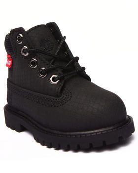 """The mini 6"""" Classic Premium Helcor Waterproof & Scuffproof boots by #Timberland for #toddlers!"""
