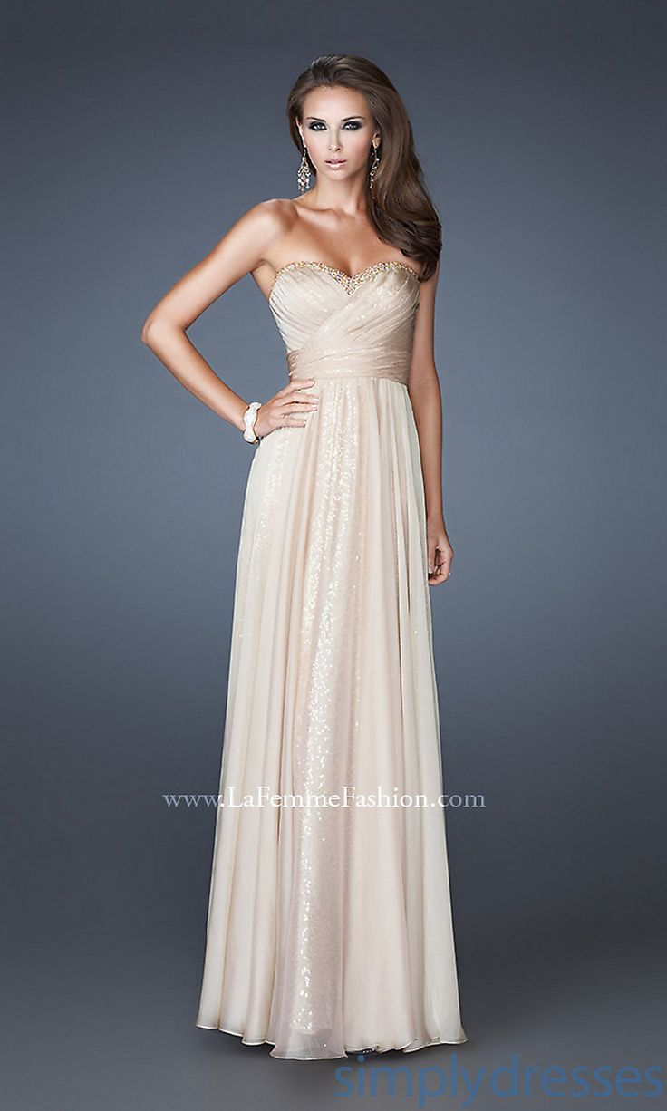 53 best bridesmaids dresses images on pinterest flower girls 2013 special empire long sweet chiffon strapless classic and sequin prom eveningbridesmaid dresses ombrellifo Gallery