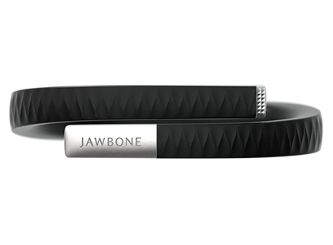 Jawbone - Excellent and wide-ranging ability to track metrics for personal health. Comfortable. Includes a vibration alarm. Gorgeous, well-designed iPhone app.