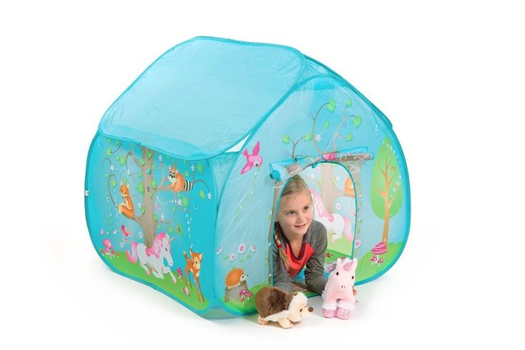 Kids Play Tent Hut Enchanted Forest Girl Boy Toy Gift Toddler Indoor Outdoor NEW #Fun2Give