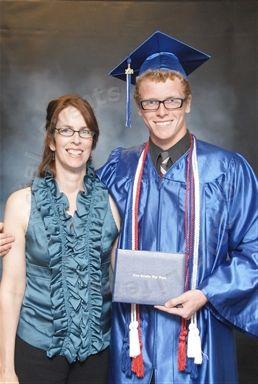 Lifetouch photo of graduation