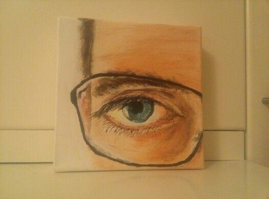 The eye of Rocky.