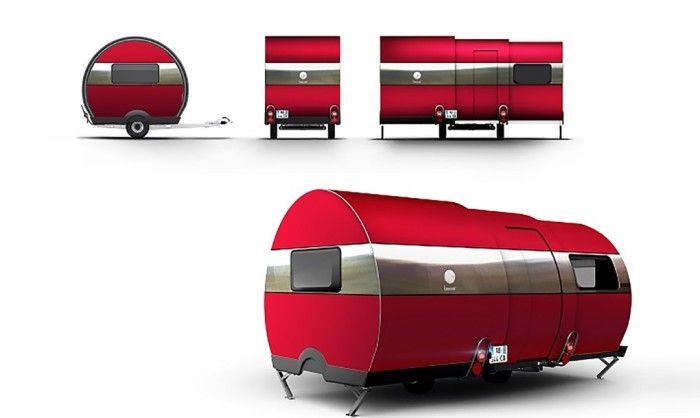 Конструкция трейлера BeauEr 3X.
