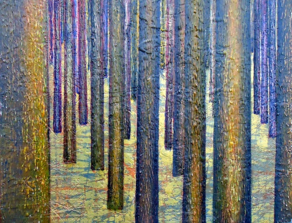 In the Forest by WhiteMeadow4 on Etsy, $500.00