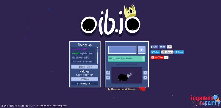 ♥ Oib.io – a recent io game Oib.io is certainly an io game that is a weird game to state the slightest! You would be playing in the form of a blob engulfed by more than a few additional players that are also blobs and you require fighting for your keeping yourself alive in a full-size blobby... ➡ http://iogames.party/oib-io/ ★ #IoGame, #IoGames, #Oib.Io, #Oib.IoGame, #Oib.IoPlay