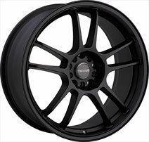 Tenzo Wheels DC-5 Black Wheels - Tenzo Wheels Wheels on sale, cheap rims, cheap wheels from Tenzo Wheels at discount prices