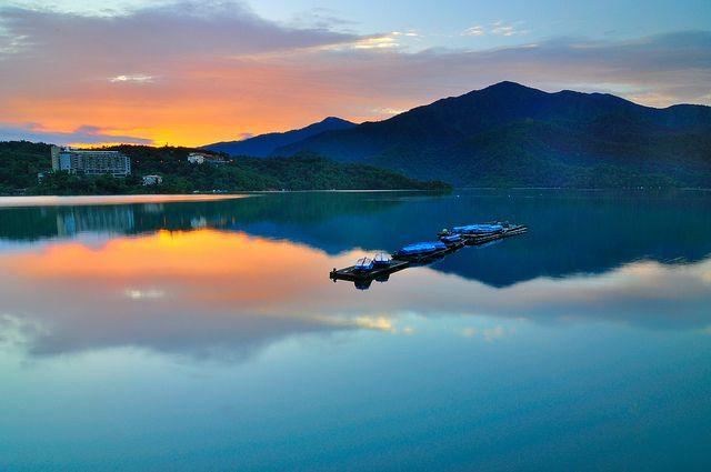 Tranquil morning at Sun Moon Lake 日月潭 | Flickr - Photo Sharing!