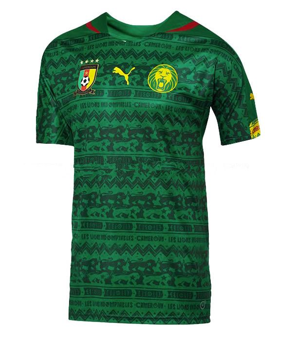 Cameroon 2014 World Cup Home Football Shirt
