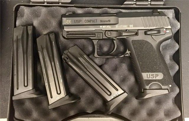 H&K USP Compact 9mm w/ (4) mags Arvada CO $649.99* | 5280 Armory - https://5280armory.com/hk-usp-compact-9mm-w-4-mags-arvada-co-649-99/#utm_sguid=159121,2ee522d7-20e4-d529-8846-b7e66583747d