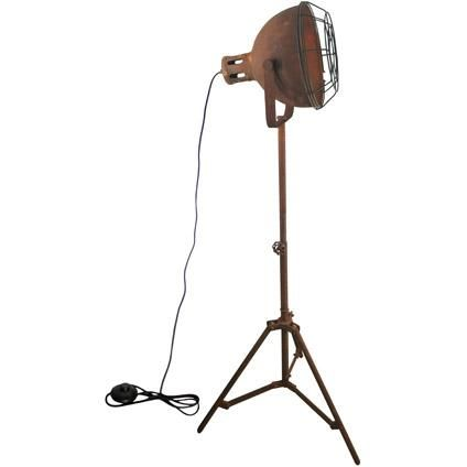 Brilliant industrial vloerlamp Jesper roest