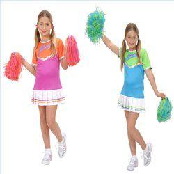 Disfraz animadora Cheer Leader para niñas