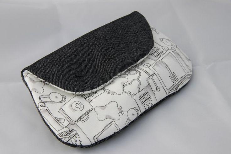 30 best bolsos de tela vaquera images on pinterest - Como hacer bolsos con salvamanteles ...