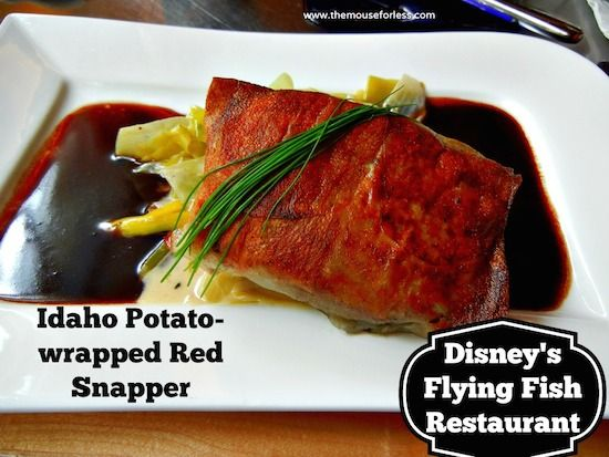 Flying fish caf menu disney resorts and dining menu for Flying fish cafe disney