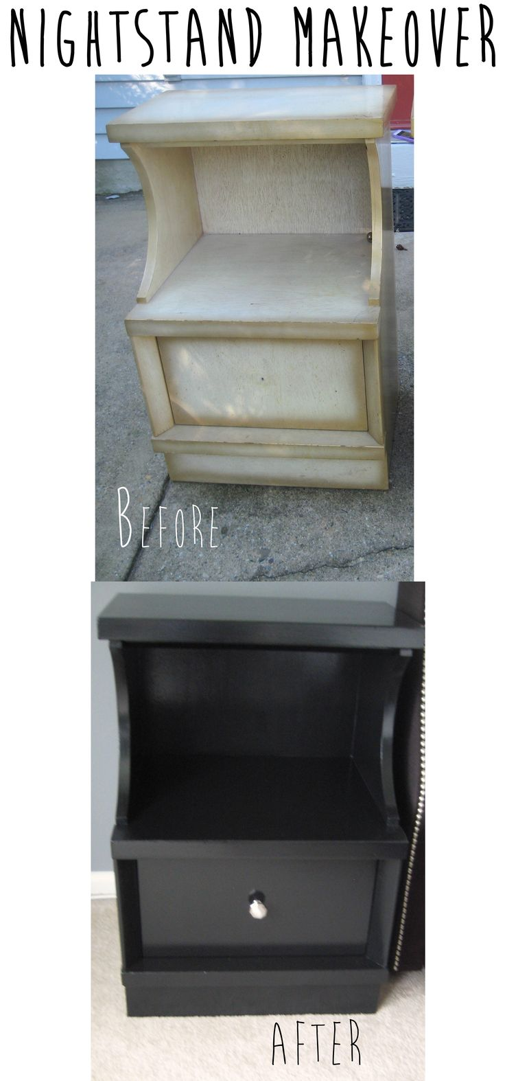 17 Best Images About Nightstand Plans On Pinterest: 17 Best Images About Nightstand & End Table Makeovers On