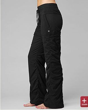 Lululemon Studio Pant II. Love the way they look I love these types of pants <3