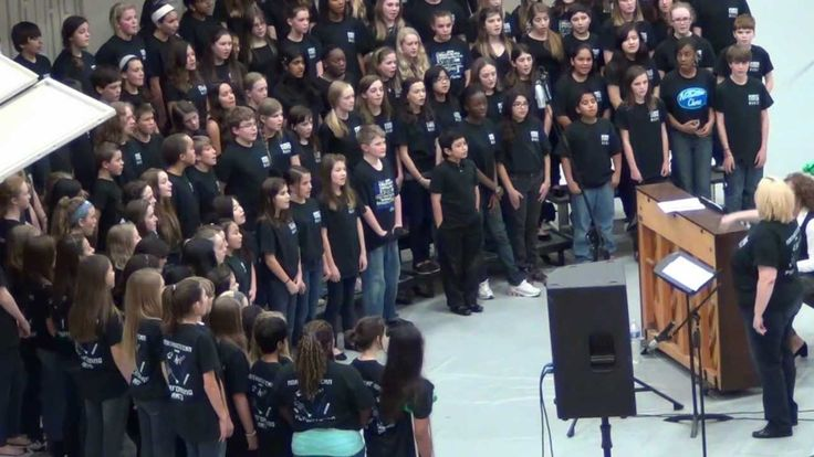 """The Northwestern Middle School Chorus performing """"Everlasting Melody"""" at Milton High School on Jaunary 14, 2013. Andrea Hummel sings the solo at the beginning. Directed by Suzanne Grant with piano accompaniment by Anne Todd."""