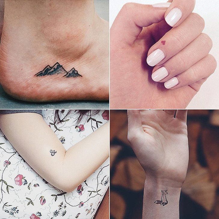 100 Tiny Tattoo Ideas For Your First Ink