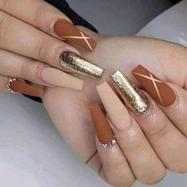Pin By Yacil Ponce On Tips De Manicuras In 2020 Coffin Nails Matte Pretty Acrylic Nails Fall Acrylic Nails