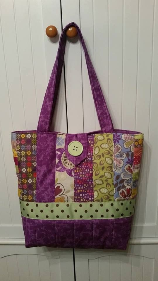 Quilting Purse Patterns Free : Best 25+ Quilted tote bags ideas on Pinterest Diy bags tutorial, Tote bags and DIY quilted bags