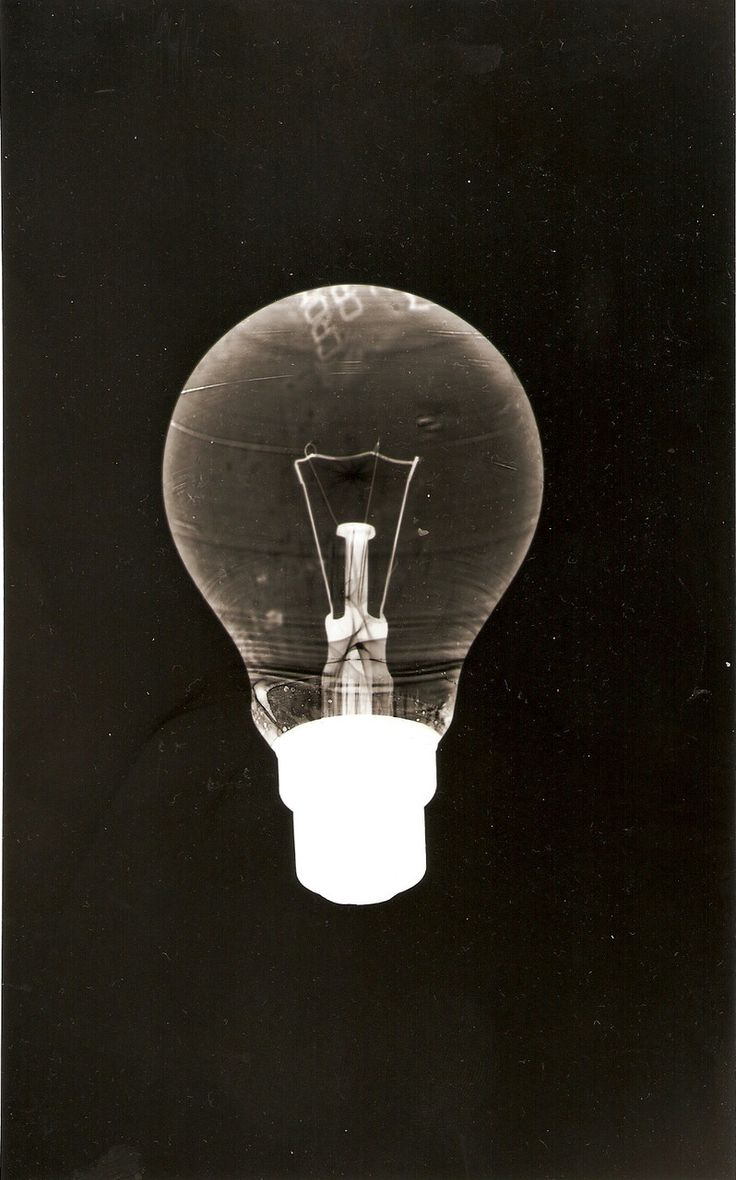 photogramblog: Light bulb classic & contemporary photograms/rayograms