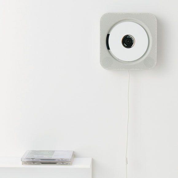 Naoto Fukasawa's iconic wall mounted cd player sold by MUJI.