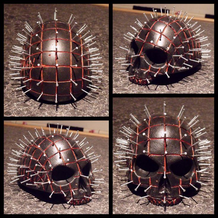 PIN HEAD SKULL