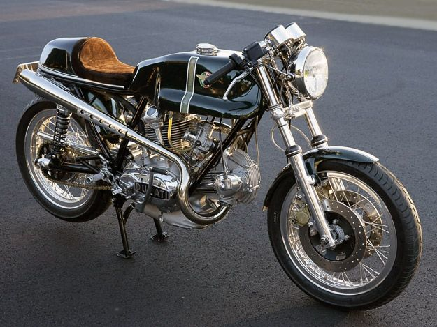 """1974 Ducati 750 Sport - I love these old naked stock bikes.  Something about the """"cutout"""" shape of the saddle...so beautiful."""