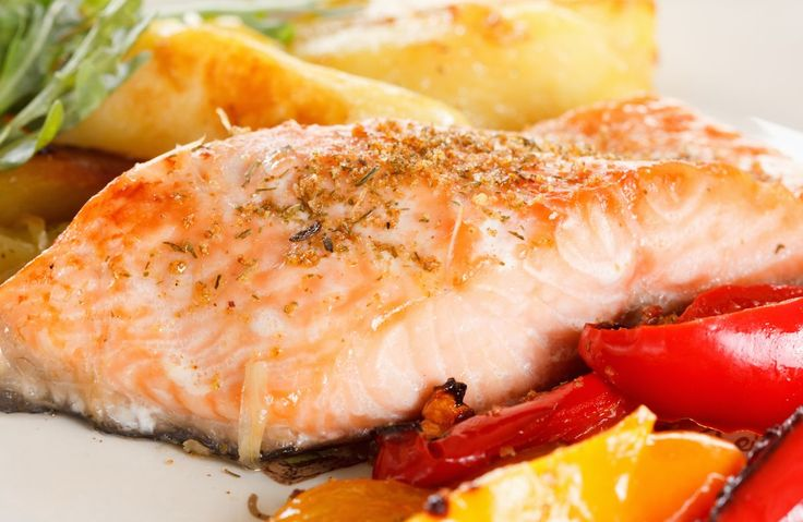 Herb-Crusted Salmon Fillets Recipe via @SparkPeople