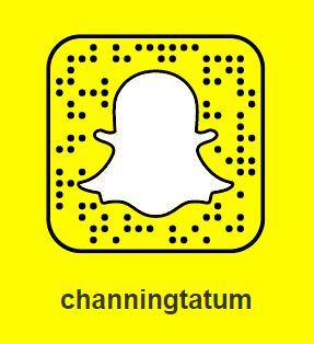 Channing Tatum Snapchat Username & Snapcode  #ChanningTatum #snapchat http://gazettereview.com/2017/09/channing-tatum-snapchat-username-snapcode/