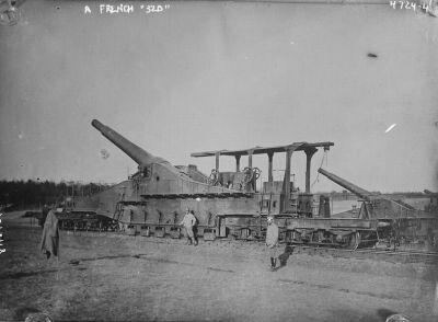 French 320mm rail gun