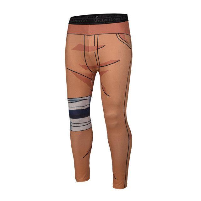 3D Animation Mens Compression Pants Mallas Hombre Compresion Dragon Ball Men Tights Joggers Sweatpants Pantalones Chandal Hombre