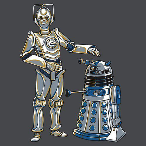 Star Wars <-> Doctor Who Crossover