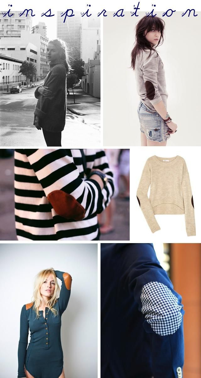 DIY Tutorial: DIY Clothes Patching / DIY Elbow Patches - Bead&Cord