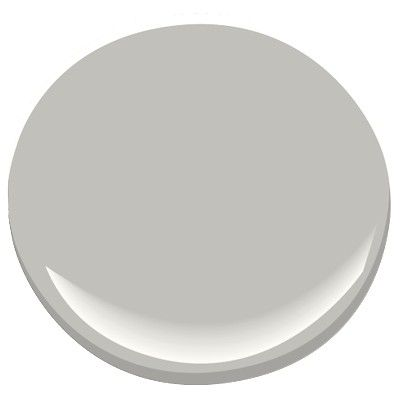 Benjamin Moore Smoke Embers - this color is our entire first floor (entry/foyer, kitchen, dining & living room), stairs and upstairs hallway