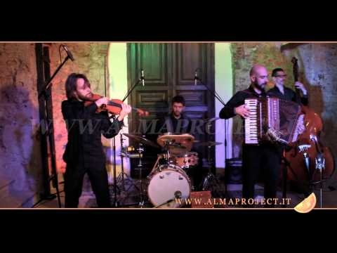 "ALMA PROJECT Klezmer Band - Klezmer-Freylekhs ""Mitsve-Gedole"" from German Goldenshteyn"