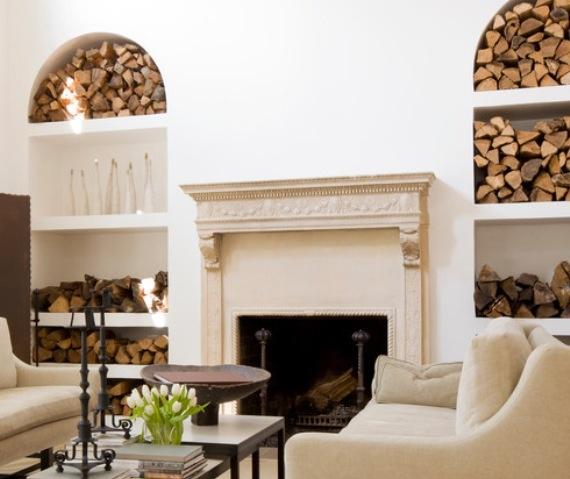 24 besten Firewood storage Bilder auf Pinterest Brennholz - brennholz lagern ideen wohnzimmer garten