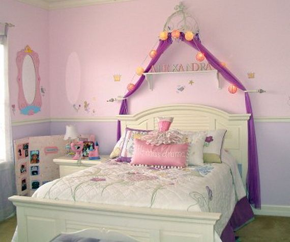 Girls Bedroom Decorating Ideas. Tangled Theme?