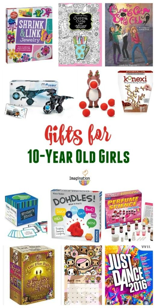 Discover the perfect gift for your 10 year old girls with this best list of games, books, toys, and art kits.