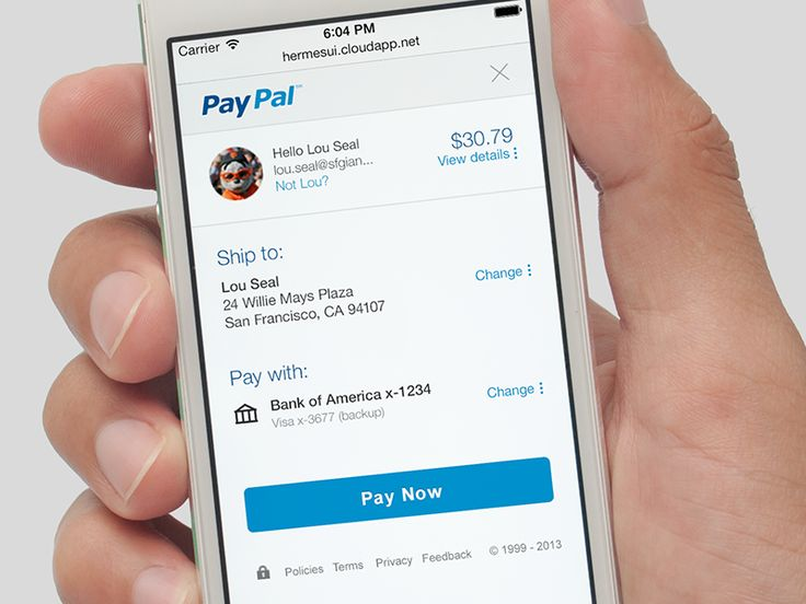 My team has been in charge of redesigning Checkout for PayPal. Look for our new experience on your next checkout!