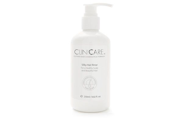 Maintain strong hair and a healthy scalp with the Cliniccare Silky Hair Rinse. It acts like a lightweight conditioner without irritating a sensitive scalp.