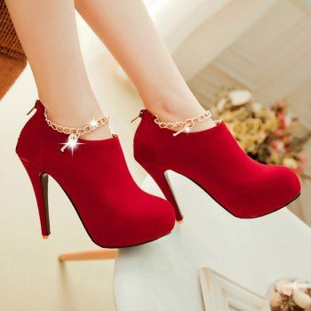SHARE & Get it FREE | Key Embellished Stiletto Heel PumpsFor Fashion Lovers only:80,000+ Items·FREE SHIPPING Join Dresslily: Get YOUR $50 NOW!