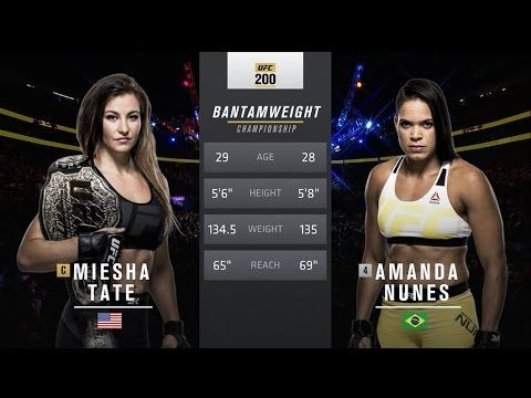 UFC (Ultimate Fighting Championship): UFC 207 Free Fight: Amanda Nunes vs Miesha Tate